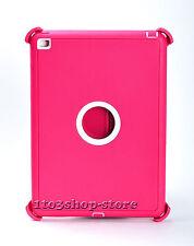iPad Mini 3 iPad Mini 2 Hard Case w/Stand Cover fit Otterbox Defender Pink White