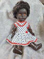 Rare vintage Pedigree Afro-American doll C1960s tender tex soft vinyl rubber