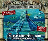 GRUSELKABINETT - BOX 3 - DIE H. P. LOVECRAFT - BOX 4 CD NEU
