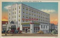 Postcard Dixie Hunt Hotel Gainesville GA Georgia