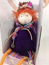 Hallmark Make A Wish Sister Shelf Sitter Fairy Pixie Purple Orange Hair - Box