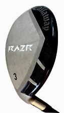 Callaway Razr 21* Degree 3 Hybrid Wood Stiff S Flex Left Hand Golf Club LH *EXC*