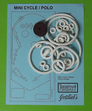 1970 Gottlieb Mini Cycle / Polo pinball rubber ring kit