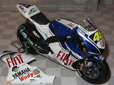 1:12 MINICHAMPS  ROSSI  FIAT YAMAHA  2008 INDIANAPOLIS DIRTY VERSION