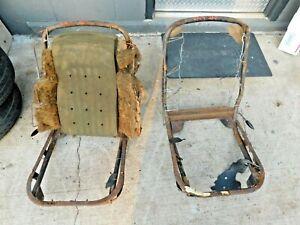 Triumph TR4A, TR250, Seat Frames, Lt & Rt, Original, !!