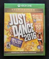 Just Dance 2016: Gold Edition - Xbox One - BRAND NEW - SEALED