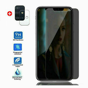for Samsung S20 FE 5G iPhone 9H Anti-Spy Privacy Tempered Glass Screen Protector
