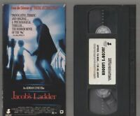 JACOB'S LADDER Horror VHS video Movie Gore Cult Slasher Sex JACOBS