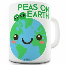 Twisted Envy Peas On Earth Ceramic Mug