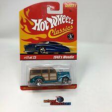 1940's Woodie * Hot Wheels Classics * JC7