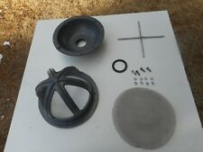 """Used !!! Pond Or Mining 1 1/2"""" Hose Thread Water Suction Strainer Inlet Housing"""