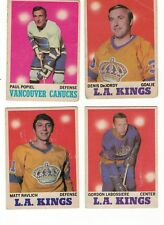 1970-71 OPC NHL Hockey Lot - Pick only the cards that you need - $1 each