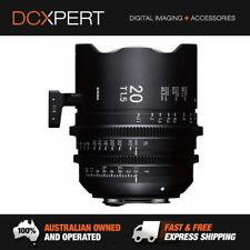 Sigma 20mm T1.5 FF High-Speed Prime (EF Mount) Cine Lens