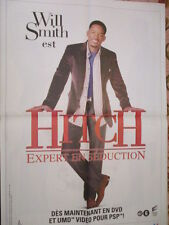 POSTER 4 PAGES CINEMA : HITCH EXPERT EN SEDUCTION WILL SMITH