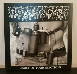 """Agathocles / Infecting The Dissected Split 7"""" Vinyl EP - Grindcore Metal VG"""