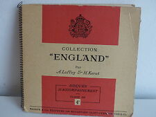 Collection England LAFFAY / KERST Disques d accompagnement Classe de 4° Anglais