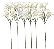 6 x Artificial Gypsophila / Baby's Breath Flower Sprays