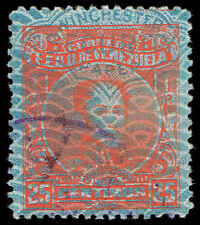 Scott # 298 - 1932 - ' Simon Bolivar ' - 'Winchester Security Paper '
