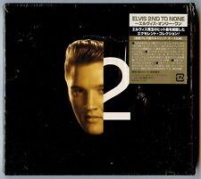 Elvis Presley CD Japan 2nd To None Deluxe inc Slipcase Dual Books & Obi Strip EX