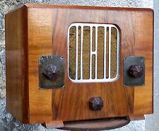 Belle petite radio des années 1934 sans marque