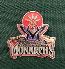 WNBA SACRAMENTO MONARCHS 1997-2001 5 YEAR ANNIVERSARY TEAM LOGO PIN RARE