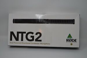Rode NTG2 Dual Powered Directional Condenser Microphone  ***FAST SHIPPING***