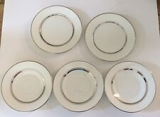 Lot of 5-Oxford Lexington Lenox China Plate-(3  Tea/Coffee Saucer, 2 Bread)