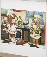 Dog Chef Dishwasher Magnet Whimsical Humor Pet Dog Lovers Kitchen Decor