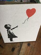 NEW LAST ONE Banksy rare one red balloon Ballon rouge moco museum UNIQUE NO COPY