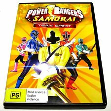 DVD, Power Rangers Samurai Team Spirit, Region 4
