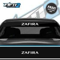 Vauxhall Zafira Sun Strip Kit Opel Universal Sunstrip Kit VXR GSI Decals