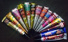 14 mix color Herbal Henna Cones Temporary Tattoo kit Body Art Mehandi ink jagua