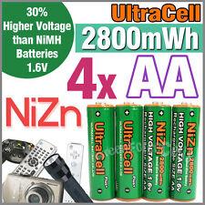 NIZN-LR06 Batterie AA 1.6 Volts 2800 mwh