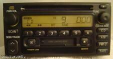 01 02 03 TOYOTA AM FM Radio Stereo Tape Cassette CD Player A56818 OEM Rav4 MR2