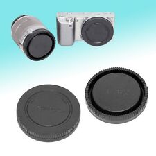 Camera Body + Rear Lens Cap Cover Set for Sony NEX-7 NEX3 NEX-5 NEX-F3 NEX5N NEX