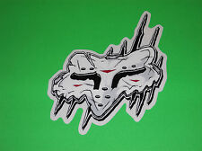 FOX RACING MOTOCROSS ATV QUAD BMX WAKEBOARD SNOWBOARD NIGHTMARE STICKER DECAL