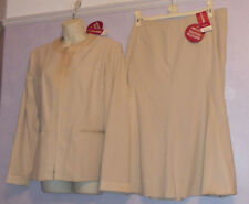 New with tags Ladies Bon Marche Gold suit Size 18