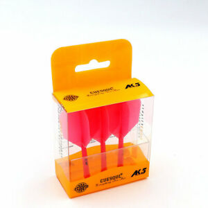 CueSoul AK5 Solid Pink Standard Long Dart Flight