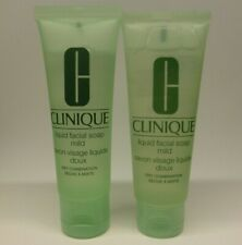 Clinique Liquid Facial Soap. Mild. NEW 100ml (2x50ml) Dry Combination Skin
