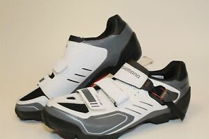Shimano NEW SH-M163W Mens 41 7.5 7.6 White Mountain Bike Cycling Shoes