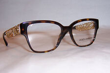 NEW DOLCE & GABBANA EYEGLASSES FILIGRANA DG 3186 HAVANA 502 51MM AUTHENTIC