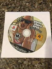 PS2 Grand Theft Auto GTA San Andreas Sony PlayStation 2 PS2 BLACK LABEL Dsc Only