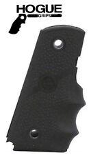 Hogue  1911 Govt. Model Black Rubber Grip with Finger Grooves # 45000   New!