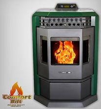 Pellet Stove Comfortbilt HP22 50000 btu Green Special Sale