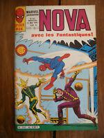 Semic MARVEL DC Comics FRANCE Spiderman BD LUG Super Heros NOVA n°40 Mai 1981