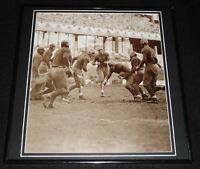 1936 NFL Championship Green Bay Packers vs Redskins Framed 12x12 Poster Photo