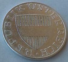 10 Schilling 1971. Österreich Austria silver coin, Silbermünzen (.640) 7,5 g !