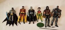 Dc Mattel Batman, Robin & Deathstroke Lot