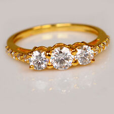 Amazing Round Shape 1.90 Carat 14Kt Solid Yellow Gold Solitaire Wedding Ring