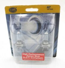 NEW Hella High Performance Xenon Blue Bulb Set of 2 H83145112 H7 12V 55W PX26